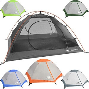 Hyke & Byke Yosemite 2 Person Backpacking Tents Review