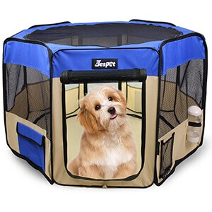 Jespet Pet Dog Playpens Review