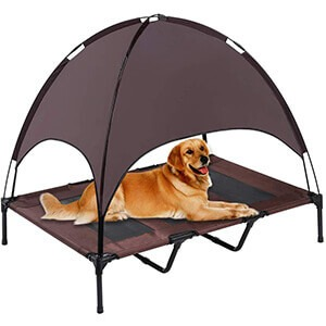 SUPERJARE Outdoor Dog Bed Tent Review