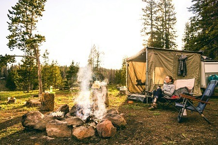 how to make tent camping more comfortable