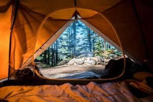 How to Camp without a Sleeping Bag