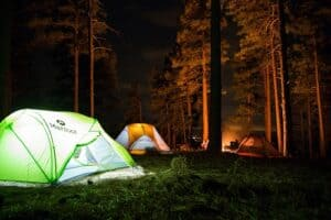 Do Tent Campsites Have Electricity