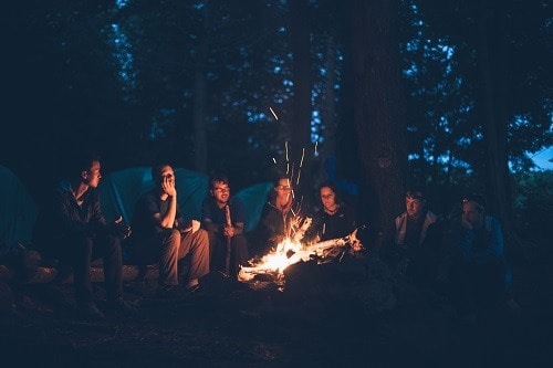 How Far Should a Campfire Be from Tent