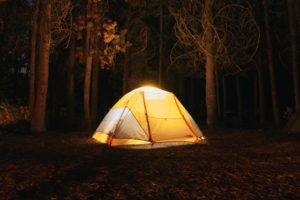 How to Make a Canopy Tent Out of a Tarp