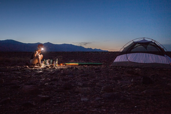 bring light source for family camping