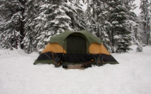 How to Set Up a Tent in Snow
